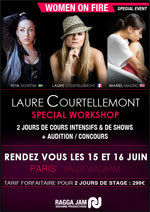 WOMEN ON FIRE : LAURE COURTELLEMONT