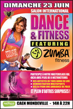 SALON INT. ZUMBA DANSE FITNESS