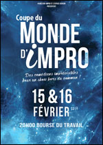 11EME MONDIAL D'IMPRO-FORF 2 SOIRS