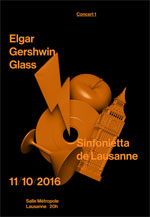 ELGAR/GERSHWIN/GLASS