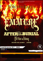 EMMURE + AFTER THE BURIAL + FIT FOR