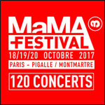MAMA FESTIVAL 2017- PASS 3 JOURS