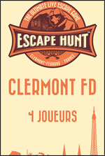 ESCAPE GAME CLERMONT FD-4 PERSONNES