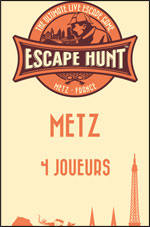 ESCAPE GAME METZ - 4 PERSONNES
