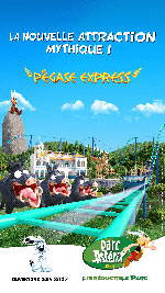 PASS SAISON DECOUVERTE PARC ASTERIX