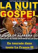 LA NUIT DU GOSPEL - LADIES OF