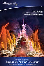 OFFRE DISNEY 1J-2 PARCS SUPER MAGIC