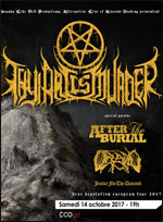 THY ART IS MURDER+AFTER THE BURIAL+