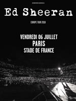 ED SHEERAN STADE DE FRANCE - PARIS