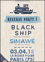 BLACK SHIP + SIMAWE
