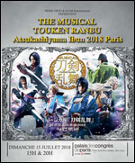 THE MUSICAL TOUKEN RANBU