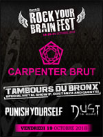 ROCK YOUR BRAIN FEST #6 - VENDREDI