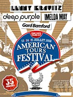 AMERICAN TOURS FESTIVAL 2018