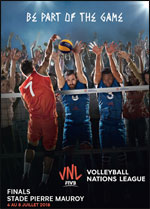 VOLLEYBALL NATIONS LEAGUE FINALS