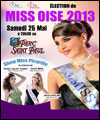 R�servation ELECTION OFFICIELLE MISS OISE 2013