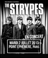 R�servation THE STRYPES + GUEST