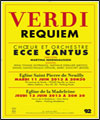R�servation VERDI : REQUIEM