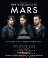 Réservation THIRTY SECONDS TO MARS