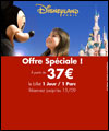 R�servation VENTE FLASH DISNEY-1 JOUR -1-PARC