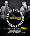 R�servation PAUL SIMON & STING
