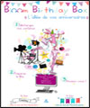 Réservation BLOOM BIRTHDAY BOX C'EST LA FETE
