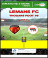 R�servation LE MANS FC / THOUARS FOOT 79