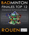 R�servation FINALE TOP 12 BADMINTON