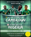 R�servation MATCH DE FOOTBALL CAMEROUN NIGERIA