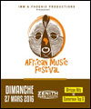 R�servation AFRICAN MUSIC FESTIVAL