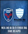 R�servation FC GRENOBLE RUGBY / RACING 92