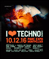 Réservation I LOVE TECHNO EUROPE 2016