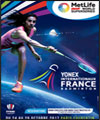 Réservation YONEX INTERNATIONAUX DE FRANCE