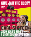 Réservation GIVE JAH THE GLORY:EARL SIXTEEN,
