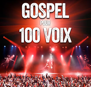 Groot evenement GOSPEL POUR 100 VOIX THE 100 VOICES OF GOSPEL CHALONS EN CHAMPAGNE
