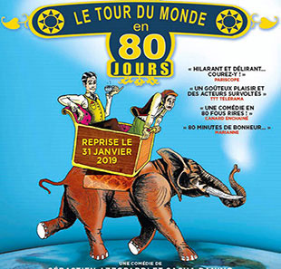 Hedendaags theater LE TOUR DU MONDE EN 80 JOURS PARIS