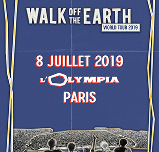 Pop-rock WALK OFF THE EARTH PARIS
