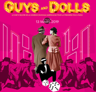 Muzikale komedie GUYS AND DOLLS a Musical Fable Of Broadway PARIS