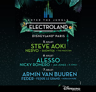 SOIREE ELECTROLAND PLUS DISNEY