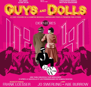 Groot evenement GUYS AND DOLLS a Musical Fable Of Broadway PARIS