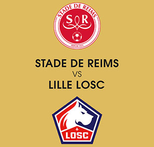 Voetbal STADE DE REIMS / LOSC LILLE LIGUE 1 CONFORAMA - 4EME JOURNEE REIMS