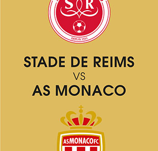 Voetbal STADE DE REIMS / AS MONACO LIGUE 1 CONFORAMA - 6EME JOURNEE REIMS