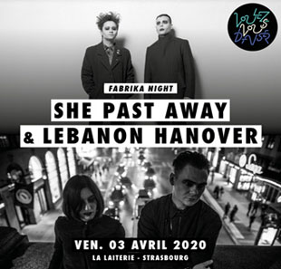 Rock LEBANON HANOVER + SELOFAN + ISOLATED YOUTH + OBERST PANIZZA STRASBOURG