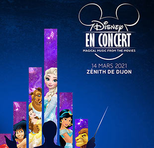 Film DISNEY EN CONCERT Magical Music from the movies DIJON