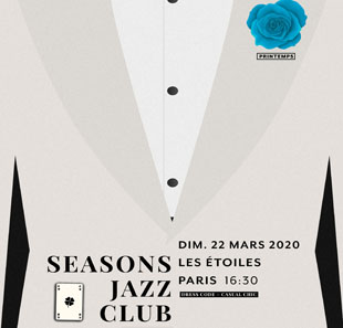 Jazz SEASONS JAZZ CLUB BY LIVE NATION T. LAMPECINADO & BACKLUCKY BAND PARIS