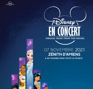 Film DISNEY EN CONCERT MAGICAL MUSIC FROM THE MOVIES AMIENS