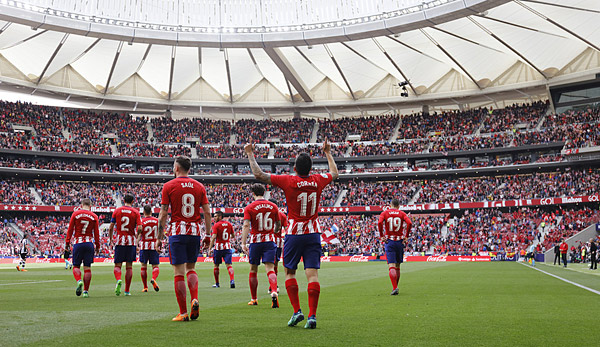 ATLETICO MADRID / VALLADOLID