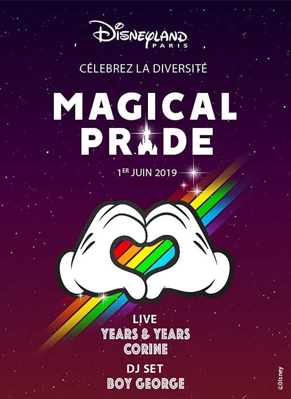 SOIREE MAGICAL PRIDE