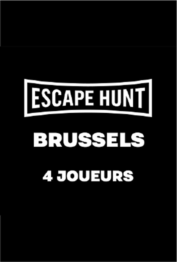 ESCAPE GAME BRUSSELS - 4 PERSONS