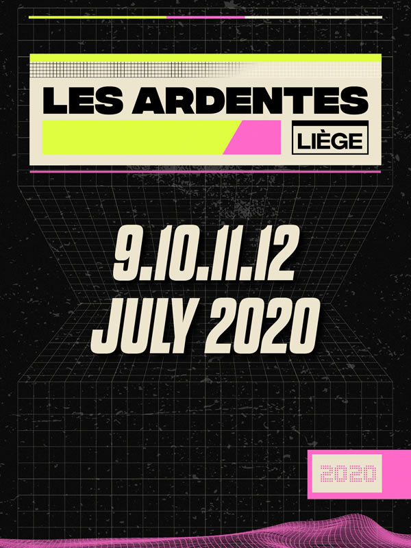 LES ARDENTES - 4DAY PASS + CAMPING
