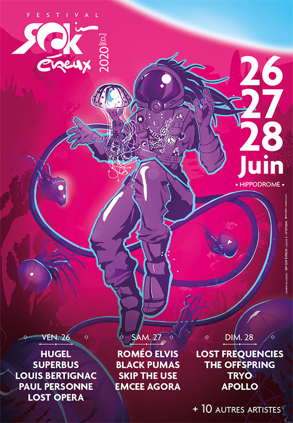ROCK IN EVREUX 2021 PASS DIMANCHE